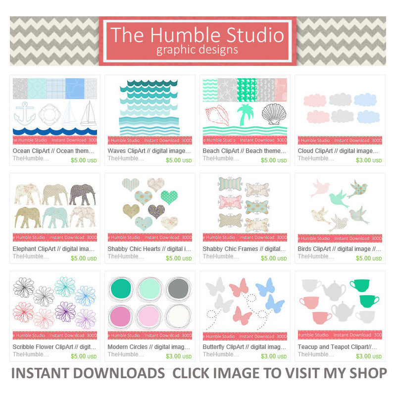 All New ClipArt & Digital Paper
